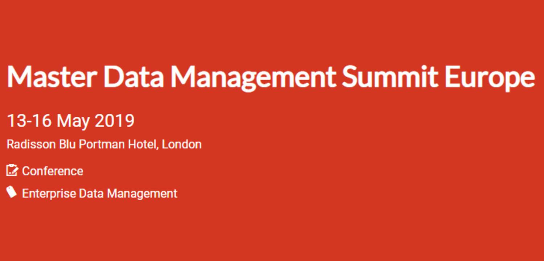 Master Data Management Summit Europe 2019 | Events | Explore Group