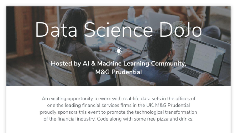 Data Science for Finance Coding Dojo | Events | Explore Group