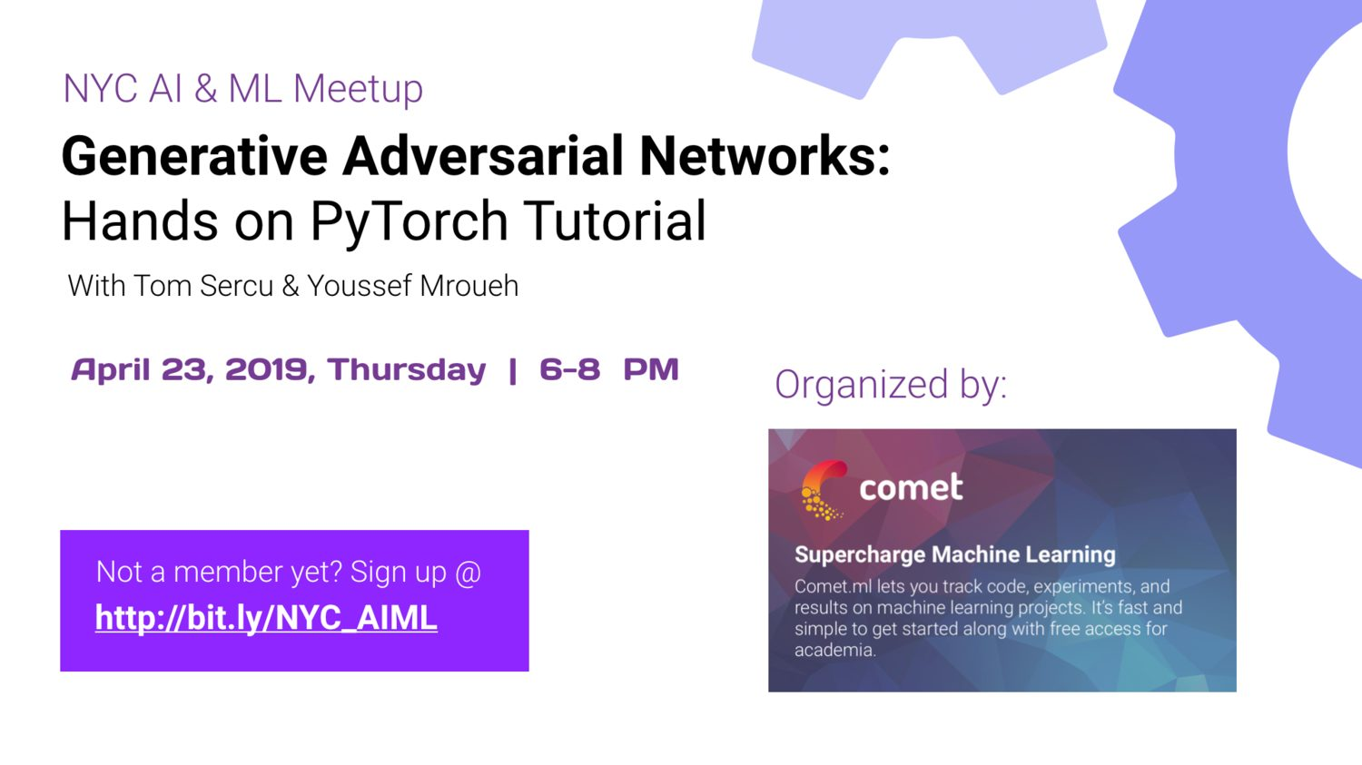 Generative Adversarial Networks | Events | Explore Group USA